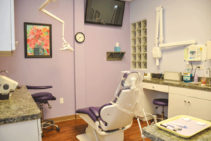 gentle dental center treatment area
